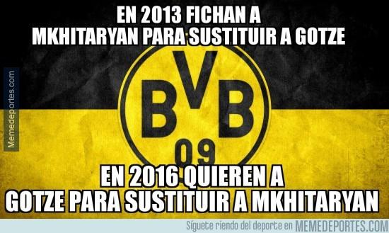 890363 - La paradoja del Borussia Dortmund