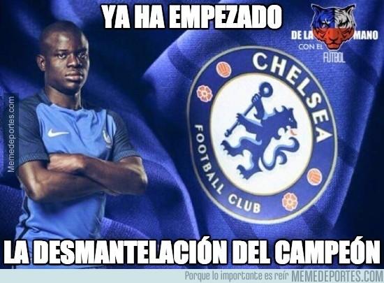 890386 - Pobre Leicester, Kanté al Chelsea :(