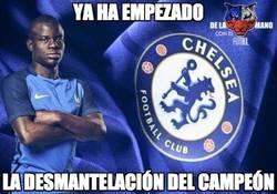Enlace a Pobre Leicester, Kanté al Chelsea :(