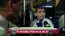 Enlace a Declaraciones de Tévez después de ser eliminado en la Copa Libertadores