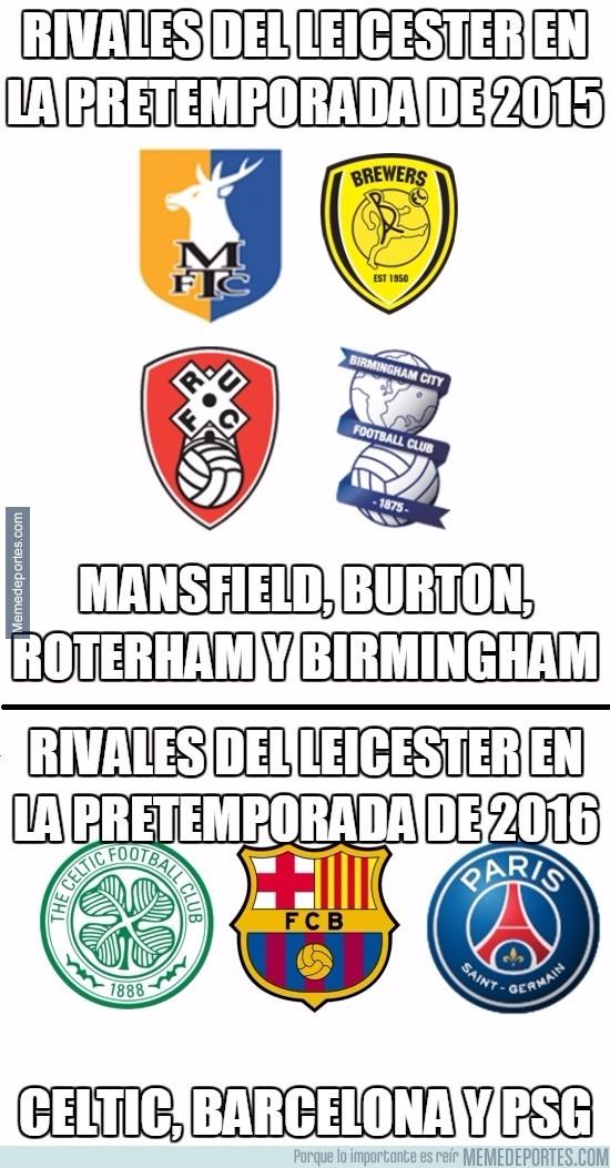 890534 - El espectacular cambio en la pretemporada del Leicester de 2015 a 2016