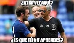 Enlace a Mourinho al ver a Mata