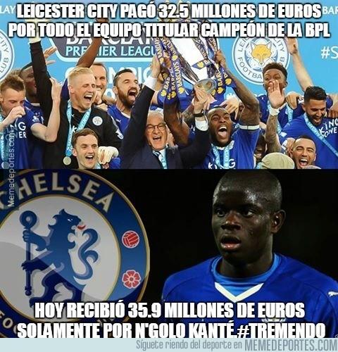 890544 - El Leicester City pagó 32.5 millones de euros por todo el equipo titular campeón de la EPL