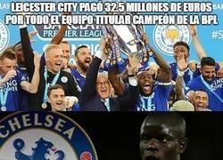 Enlace a El Leicester City pagó 32.5 millones de euros por todo el equipo titular campeón de la EPL