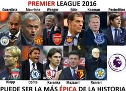 Enlace a Increíble la competencia de los entrenadores por el titulo de la Premier League 2016