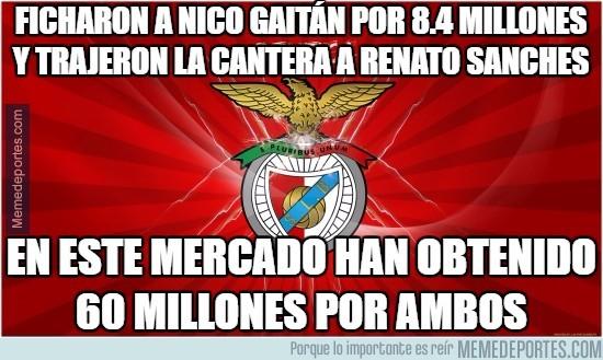 890676 - El Benfica y su arte de ganar dinero