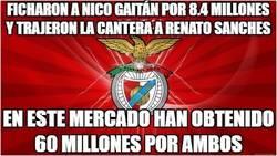 Enlace a El Benfica y su arte de ganar dinero