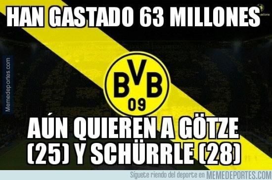 890739 - El Borussia Dortmund cerca del récord en fichajes de la Bundesliga