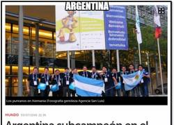Enlace a Argentina lo vuelve a hacer