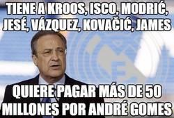 Enlace a Tiene a Kroos, Isco, Modrić, Jesé, Vázquez, Kovačić, James