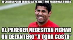 Enlace a El chelsea puede denunciar al Atleti por presionar a Diego Costa