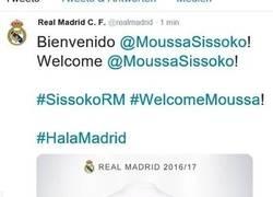Enlace a La cuenta de twitter del Real Madrid presentó nuevo fichaje y lo eliminó tras un minuto