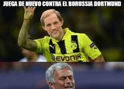 Enlace a Mourinho está gafado contra el BVB