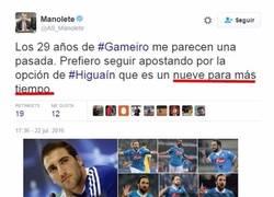 Enlace a Manolete, periodista del AS demuestra que no tiene ni idea de fútbol