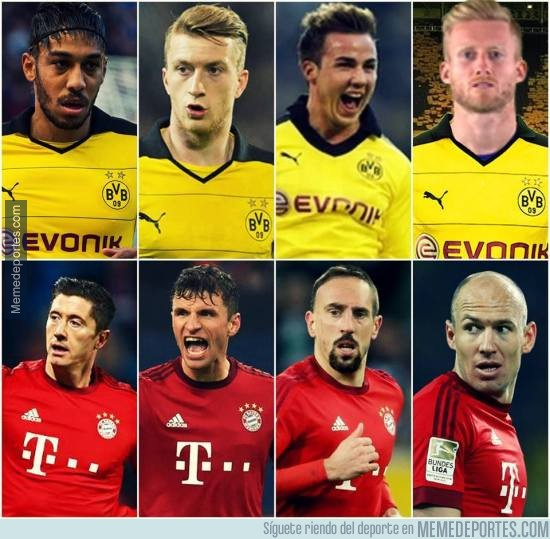 891691 - Este año el Bayern-Dortmund sí que estará nivelado