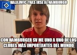Enlace a A Halilovic se le ve un chico sincero tras estas palabras