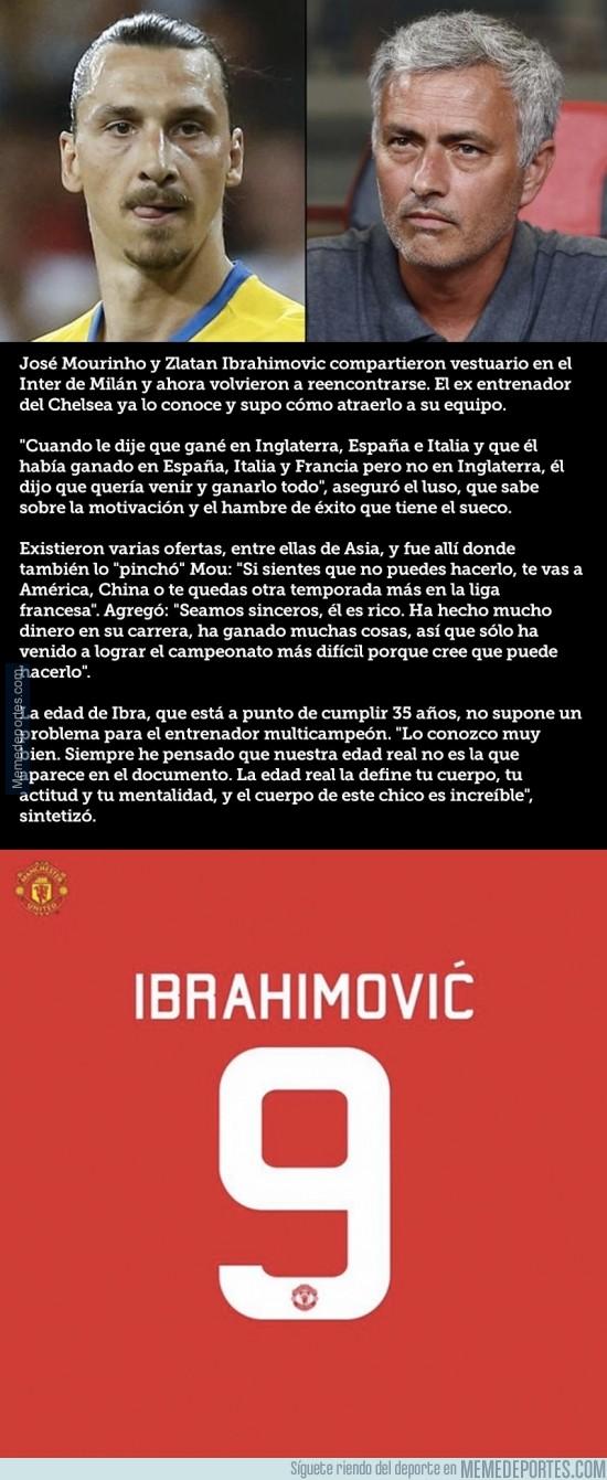 892030 - Cómo Mourinho convenció a Zlatan para ir al Manchester United