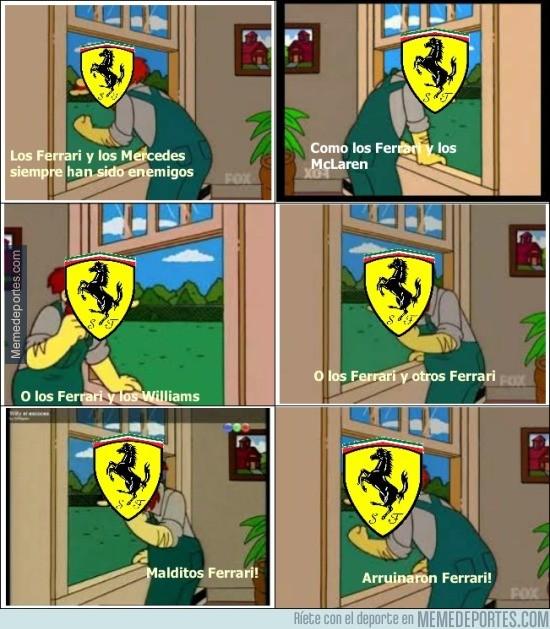 892178 - La situación de Ferrari este año es complicada...