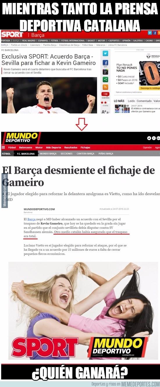 892207 - Mientras tanto la prensa deportiva catalana. La enésima guerra de Sport y Mundo Deportivo