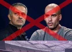 Enlace a Estas fotos demuestran por qué nos quedamos sin el primer duelo Mourinho - Guardiola