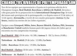 Enlace a La pretemporada del Real Madrid