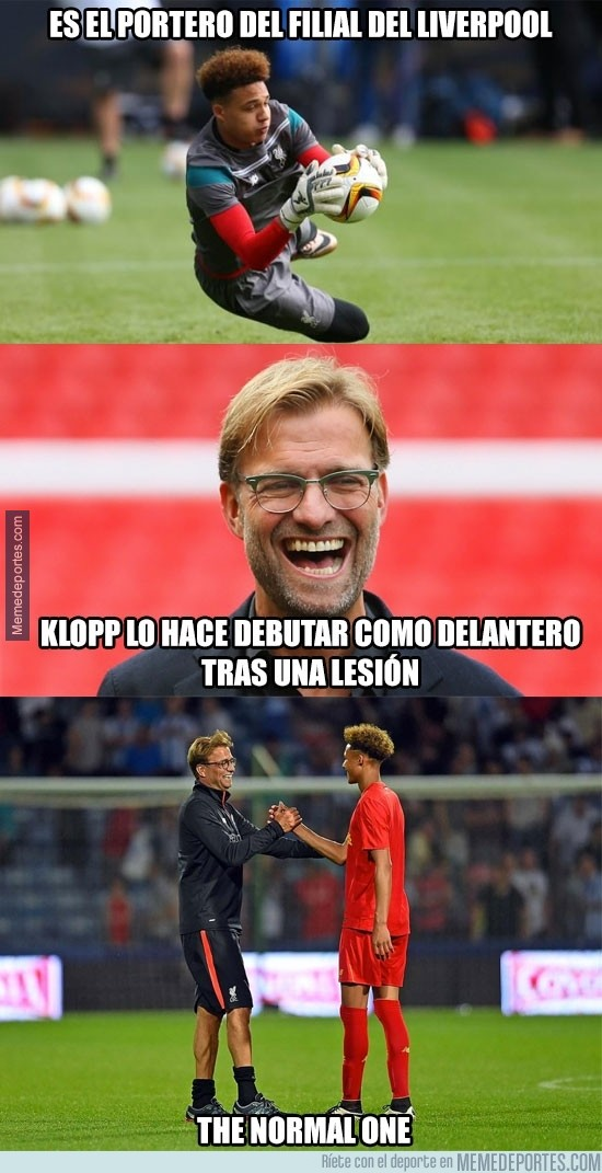 892403 - ¿Klopp The Normal One?