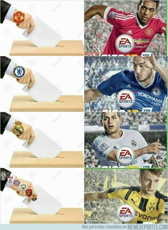 892455 - Así se eligió la portada del FIFA 17
