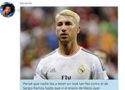 Enlace a WHATSAPP PRIVADO: Los jugadores del Real Madrid se burlan del nuevo corte de pelo de Leo Messi