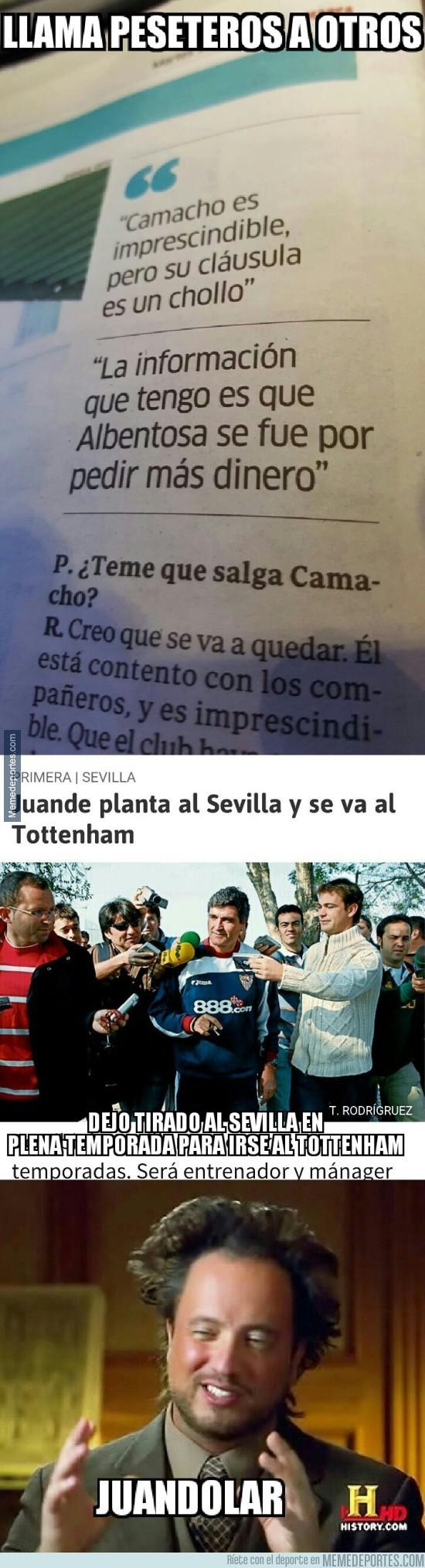 892469 - Juande Ramos va llamando peseteros a los jugadores