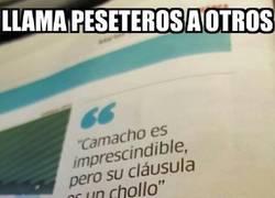 Enlace a Juande Ramos va llamando peseteros a los jugadores