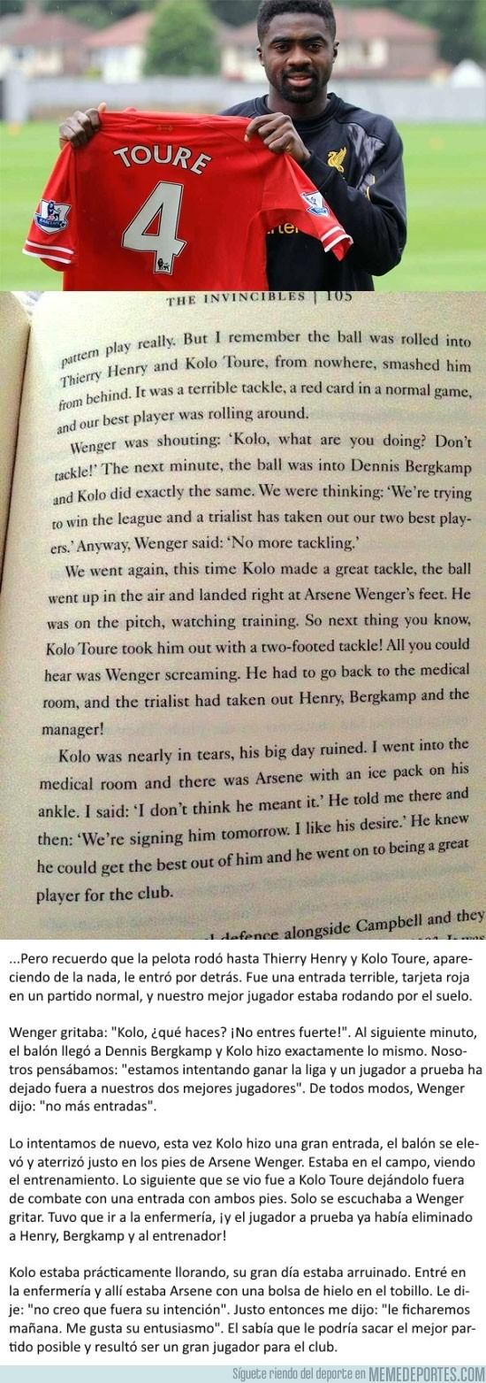 892510 - La curiosa historia sobre el fichaje de Kolo Toure por el Arsenal