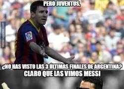 Enlace a Buffon tiene respuesta a la pregunta de Messi