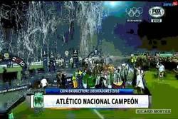 Enlace a ¡Enhorabuena! Atlético Nacional campeón de la Libertadores