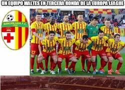 Enlace a Milagro en el fútbol maltés. Un equipo pasando dos rondas en competición europea