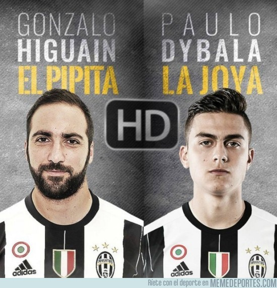 893241 - La HD, la nueva dupla argentina de la Juventus