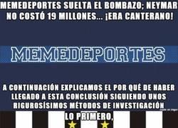 Enlace a Al final no fueron 19 millones, Neymar era canterano