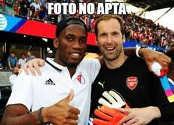 Enlace a Foto no apta para fans del Chelsea