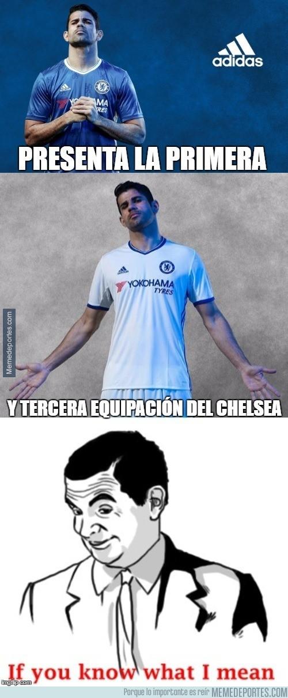 893429 - Diego Costa presentando la equipación del Chelsea, ya sabemos lo que pasará