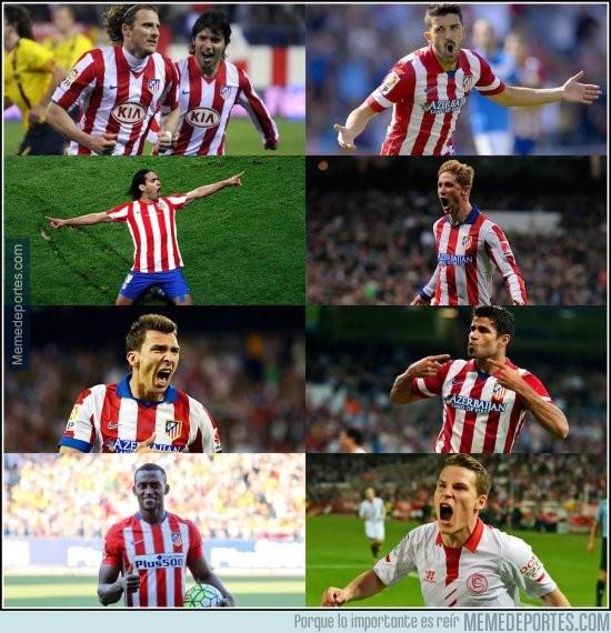 893825 - Casi nada... La delantera del Atlético en los últimos años