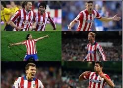 Enlace a Casi nada... La delantera del Atlético en los últimos años