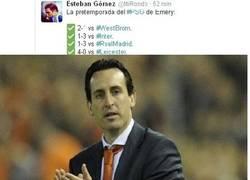 Enlace a Emery la va a romper en el PSG, y lo sabes