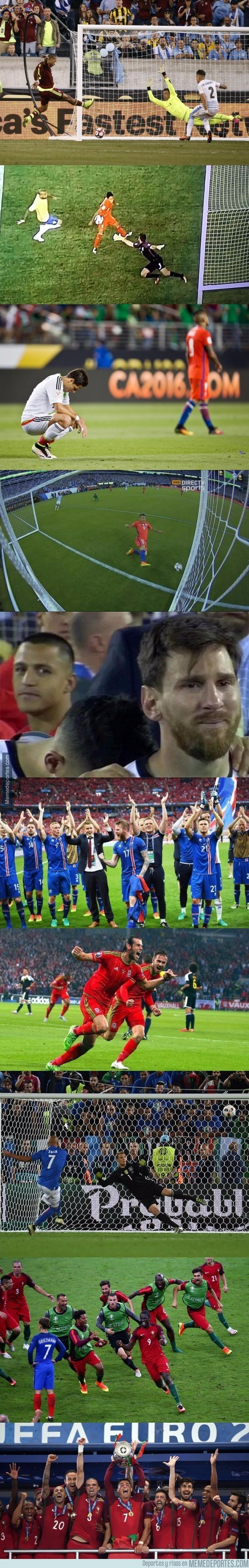 893931 - Resumen de lo que ha sido esta Copa América Centenario y Eurocopa en 10 imágenes