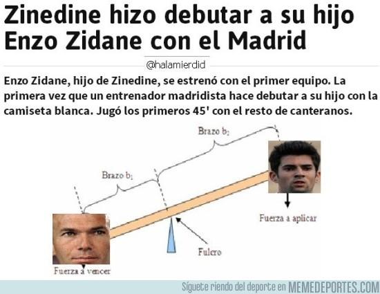 894097 - No hay mejor forma de definir el caso de Enzo Zidane