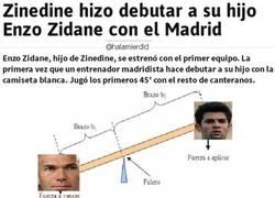Enlace a No hay mejor forma de definir el caso de Enzo Zidane