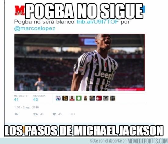 894348 - Pogba no sigue los pasos de Michael Jackson