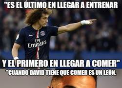 Enlace a David Luiz sobre el peso de Ben Arfa: