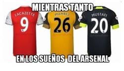 Enlace a Los sueños húmedos del Arsenal