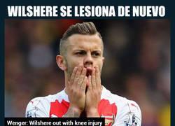 Enlace a Wilshere, una vez más lesionado antes de arrancar la Premier