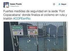 Enlace a Fuertes medidas de seguridad en la sede 'Fort Copacabana' para los JJOO