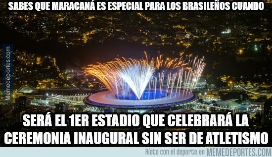 895129 - Maracaná es especial para los brasileños